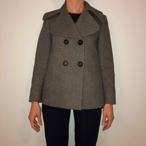Barney's New York wool peacoat